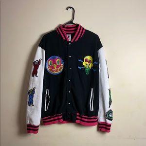 BBC ice cream varsity jacket